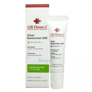 Kem chống nắng Cell Fusion C Clear Sunscreen 100 SPF 48 PA+++ 10ml