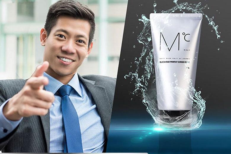 Tác dụng MdoC Blackhead Perfect Scrub Foam 150g