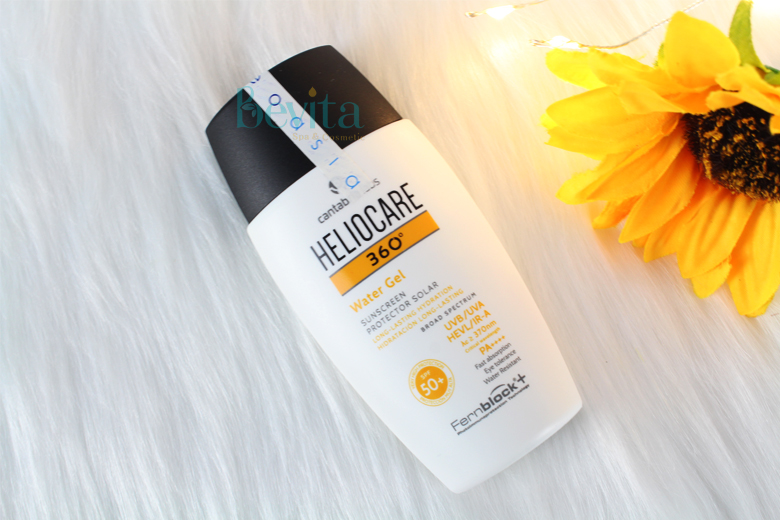 Công dụng kem chống nắng Heliocare Water Gel SPF50 PA++++ 50ml