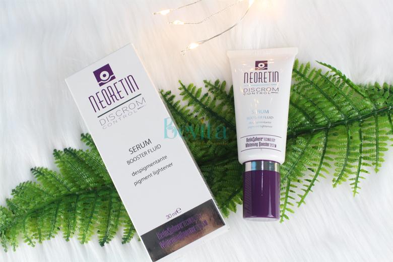 Công dụng Neoretin Discrom Control Serum Booster Fluid Pigment Lightener 30ml