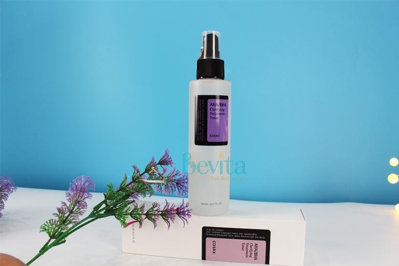 Tác dụng nước hoa hồng trị mụn Cosrx AHA/BHA Clarifying Treatment Toner 150ml