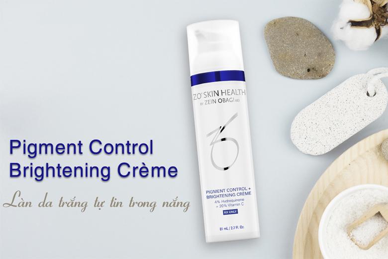 Công dụng kem làm sáng da Zo Skin Health Pigment Control + Brightening Creme 81ml