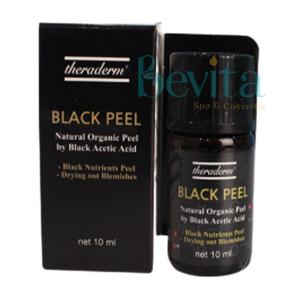 Peel da đặc trị mụn Theraderm Black Peel 10ml