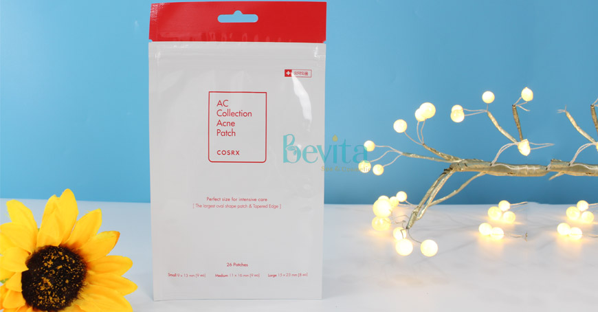 Review miếng dán mụn Cosrx AC Collection Acne Patch