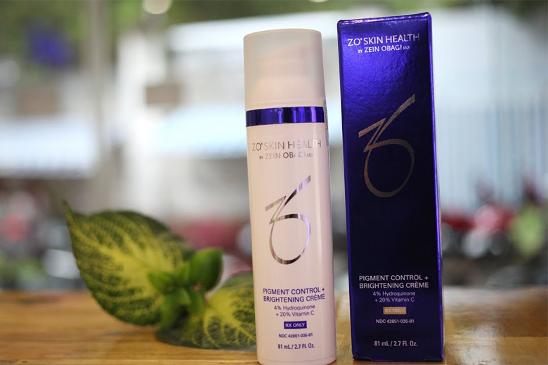 Tác dụng kem làm sáng da Zo Skin Health Pigment Control + Brightening Creme 81ml