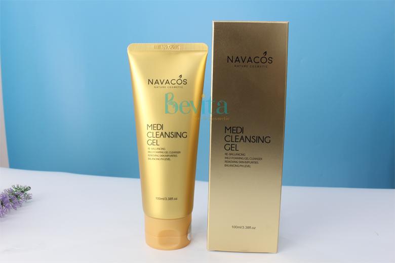 Công dụng sữa rửa mặt Navacos Medi Cleansing Gel 100ml