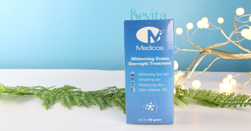 Medicos Whitenning Cream Overnight Treatment
