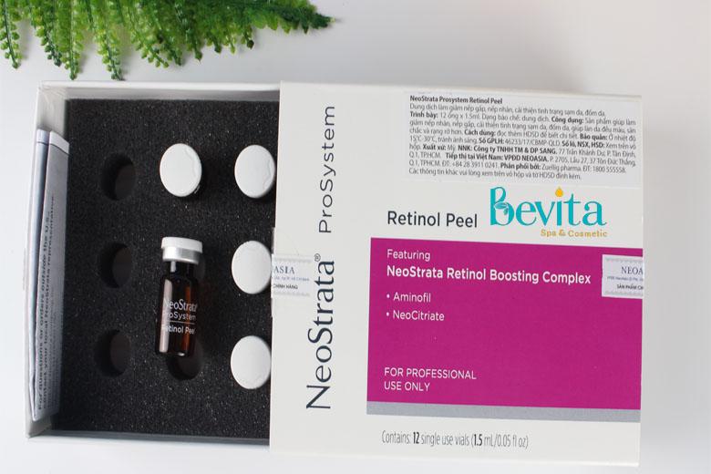 NeoStrata ProSystem Retinol Peel se khít lỗ chân lông