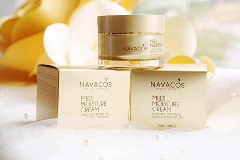 Công dụng kem dưỡng ẩm Navacos Medi Moisture Cream 50ml