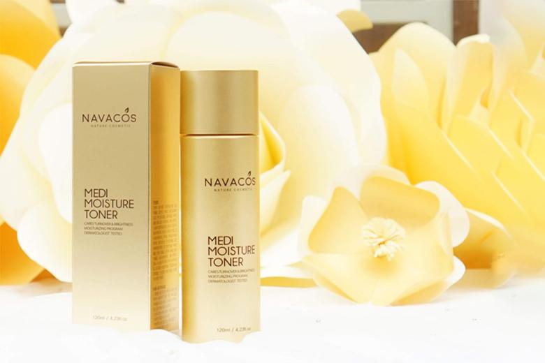 Công dụng nước hoa hồng Navacos Medi Moisture Toner 120ml