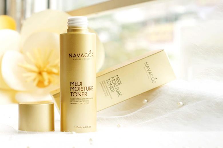 Tác dụng nước hoa hồng Navacos Medi Moisture Toner 120ml