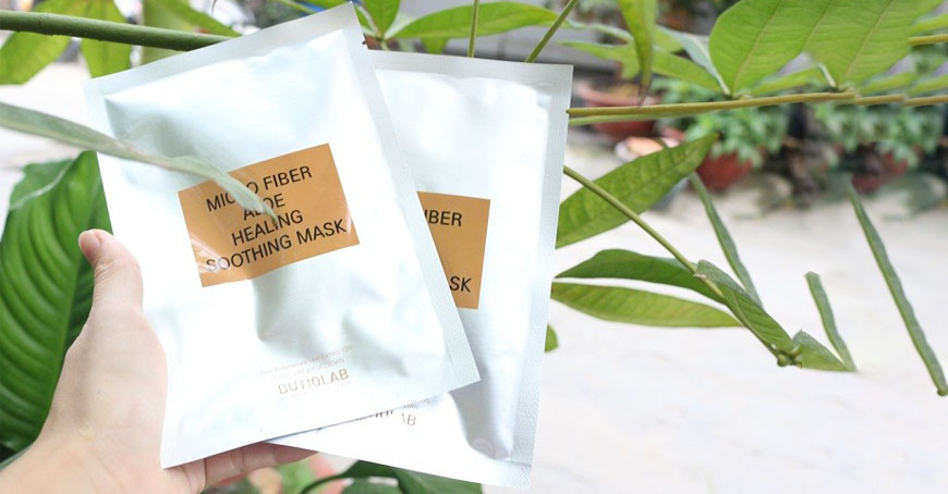 Butiqlab Micro Fiber Aloe Healing Soothing Mask