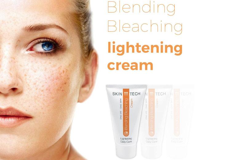 Công dụng kem sáng da, giảm nám, tàn nhang Skintech Blending Bleaching Cream 50ml