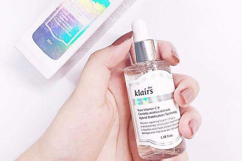 Công dụng tinh chất dưỡng sáng da Dear Klairs Freshly Juiced Vitamin Drop 35ml