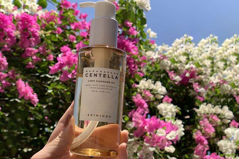 Tác dụng dầu tẩy trang Skin1004 Madagascar Centella Light Cleansing Oil 200ml