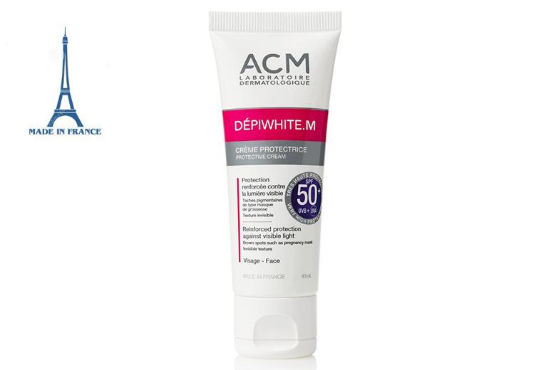 Công dụng kem chống nắng ACM Depiwhite M Protective Cream SPF50+ 40ml