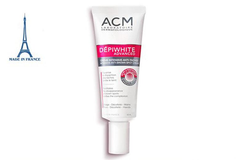 Công dụng kem dưỡng sáng da ACM Depiwhite Advanced Intensive Anti-Brown Spot Cream 40ml