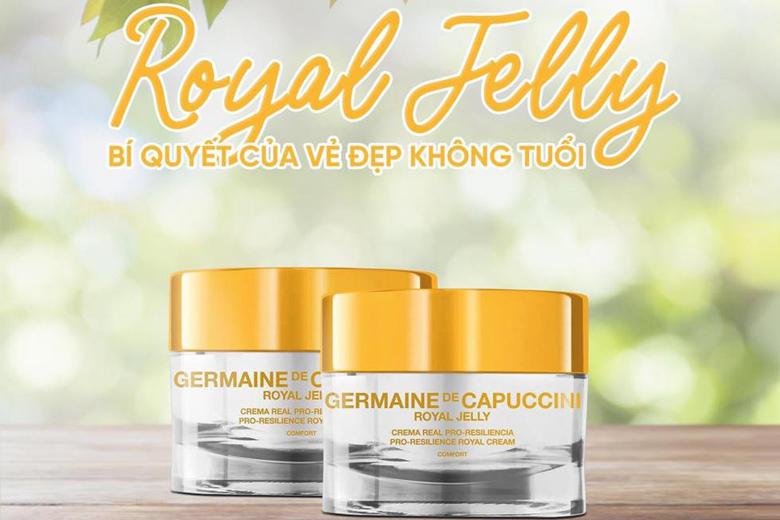 Công dụng kem dưỡng tái tạo da Germaine De Capuccini Royal J Pro-Res.Royal Cream Extreme 50ml