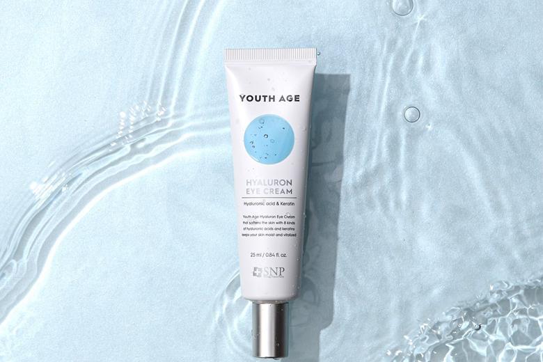 Công dụng kem mắt cấp ẩm SNP Youth Age Hyaluronic Eye Cream 25ml