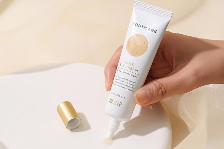 Công dụng kem mắt giảm nếp nhăn SNP Youth Age Gold Cream 25ml