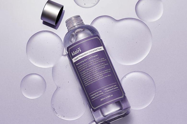 Công dụng nước hoa hồng không mùi Dear Klairs Supple Preparation Unscented Toner 180ml