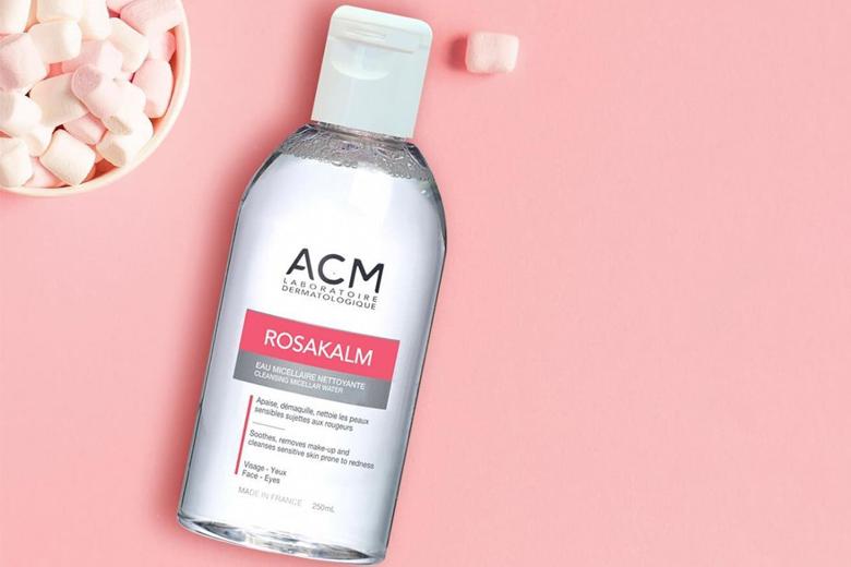 Công dụng nước tẩy trang da nhạy cảm ACM Rosakalm Cleansing Micellar Water 250ml