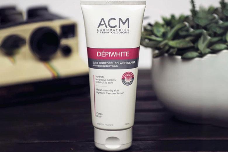 Công dụng sữa dưỡng ẩm sáng da cơ thể ACM Depiwhite Body Milk 200ml