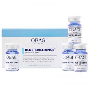 Tác dụng bộ peel da tại nhà Obagi Clinical Blue Brilliance Triple Acid Peel (4 lọ x 8ml)