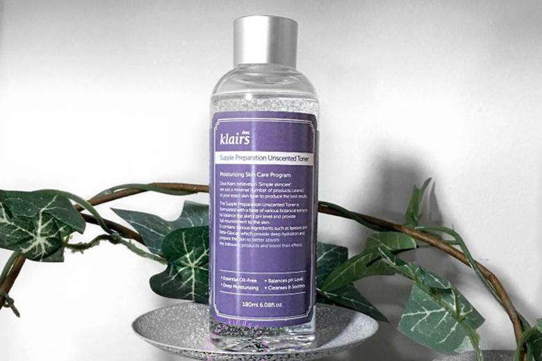 Tác dụng nước hoa hồng không mùi Dear Klairs Supple Preparation Unscented Toner 180ml