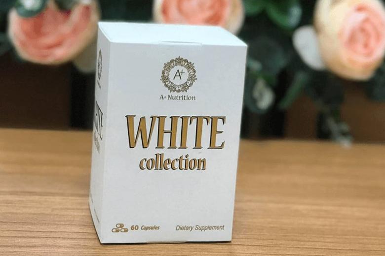 Tác dụng viên uống trắng da giảm nám A+ Nutrition White Collection 60 Viên