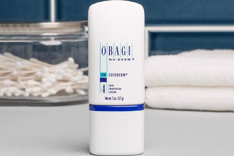Công dụng lotion tái tạo cho da khô Obagi Nuderm Exfoderm Skin Smoothing Lotion 57g