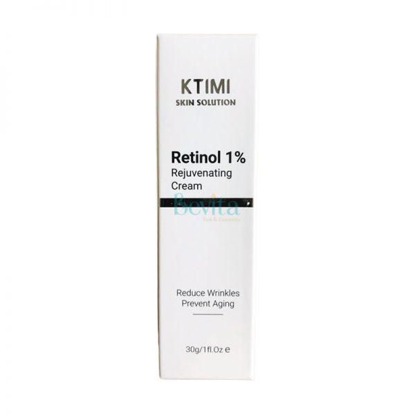 Kem chống lão hóa giảm nếp nhăn Ktimi Retinol 1% Rejuvenating Cream