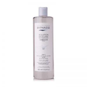 Nước tẩy trang than hoạt tính Byphasse Solution Micellaire Charbon Actif Detox Pure Skin 500ml