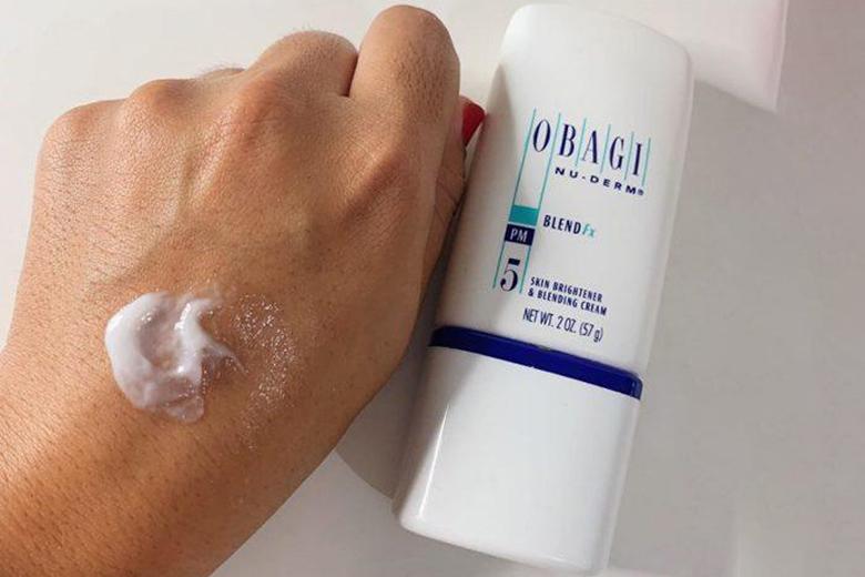 Tác dụng kem dưỡng làm trắng da trị sạm nám Obagi Nu-Derm Blend Fx 57g