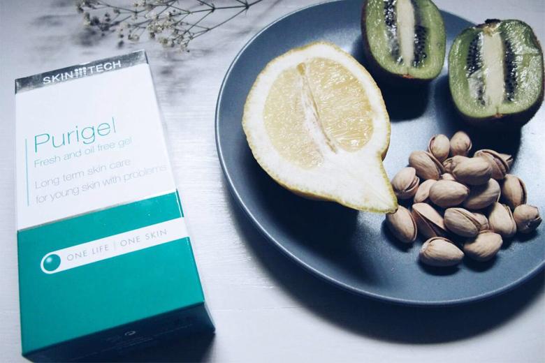 Công dụng gel giảm nhờn mụn Skintech Purigel 50ml