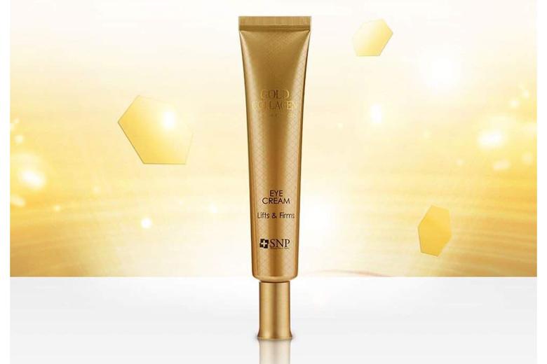 Công dụng kem mắt nâng cơ SNP Gold Collagen Lift Action Eye Cream 30ml
