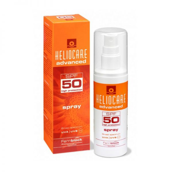 Kem chống nắng body dạng xịt Heliocare Advanced Spray SPF 50 200ml