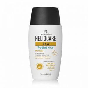 Kem chống nắng da nhạy cảm dạng gel Heliocare Pediatrics Mineral 50ml
