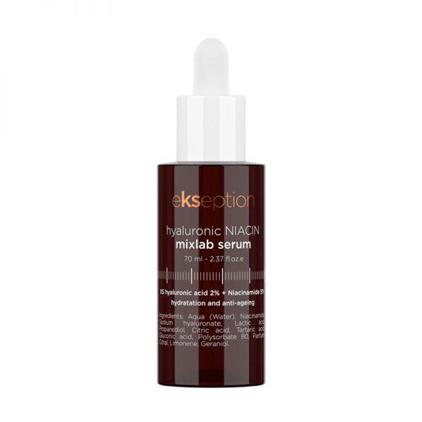 Serum dưỡng ẩm sáng da Ekseption Hyaluronic Niacin Mixlab Serum 70ml