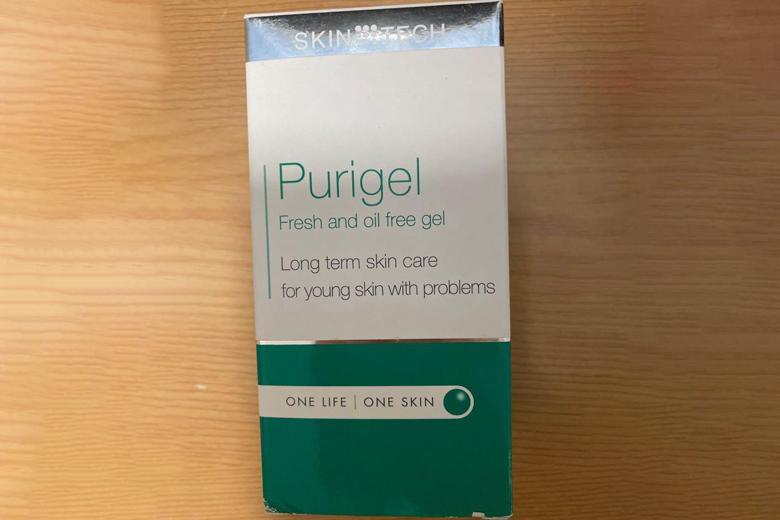 Tác dụng gel giảm nhờn mụn Skintech Purigel 50ml