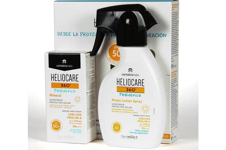 Tác dụng kem chống nắng da nhạy cảm dạng gel Heliocare Pediatrics Mineral 50ml