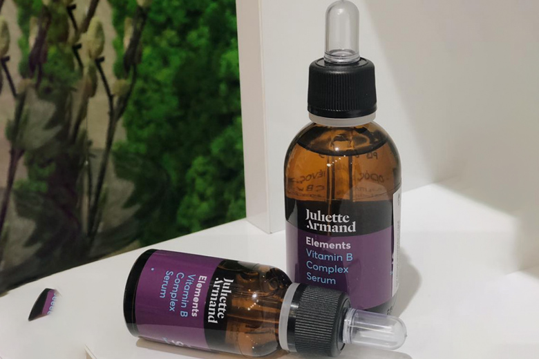 Tác dụng serum làm dịu da nhạy cảm kích ứng Juliette Armand Vitamin B Complex Serum 20ml