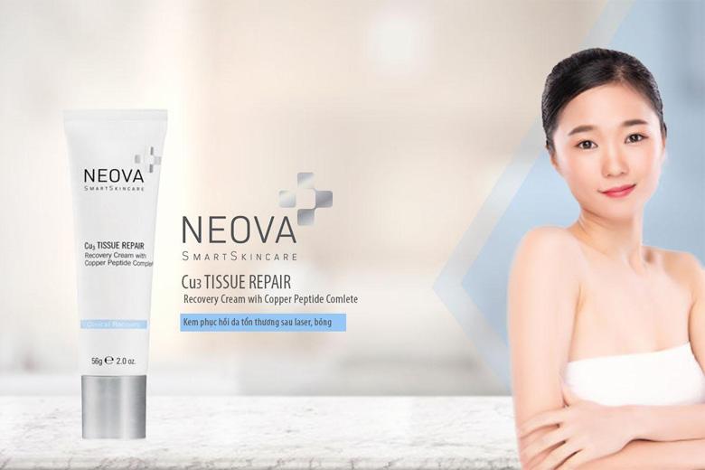 Công dụng kem phục hồi da tổn thương Neova CU3 Tissue Repair 56g
