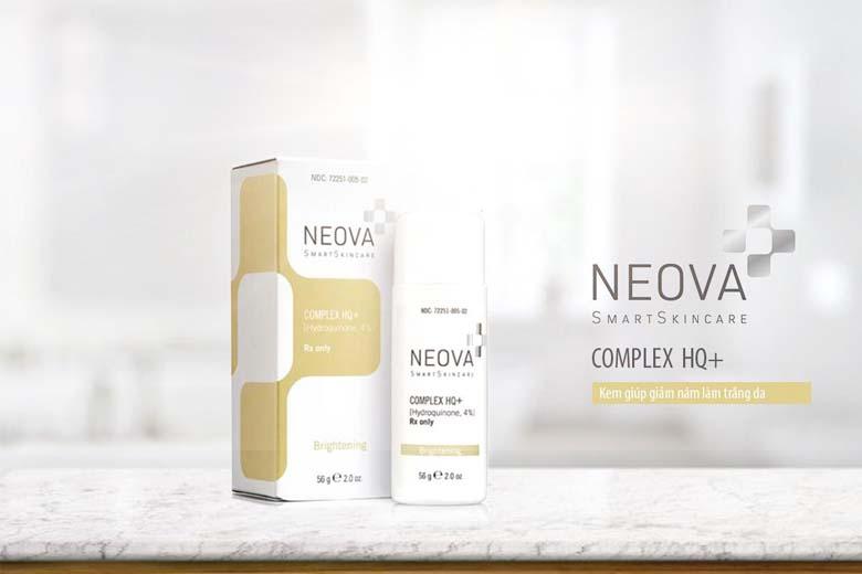 Công dụng kem trị nám tàn nhang Neova Complex HQ Plus 56g