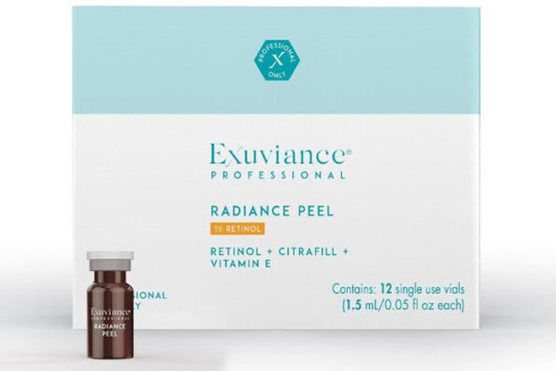 Công dụng peel da Exuviance Retinol Radiance Peel 1% Retinol 1,5ml