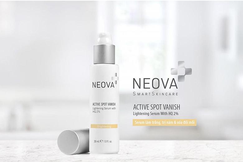 Công dụng serum làm trắng trị nám Neova Active Spot Vanish HQ2% 30ml