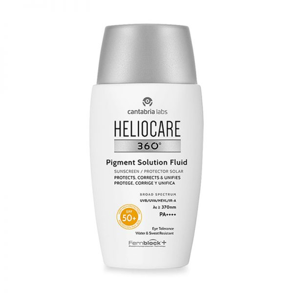 KKem chống nắng phổ rộng Heliocare 360º Pigment Solution Fluid SPF 50+ 50ml