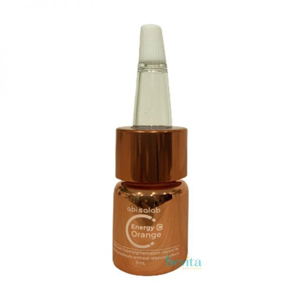 Serum trị mụn đường cam Abisalab Energy Orange 5ml