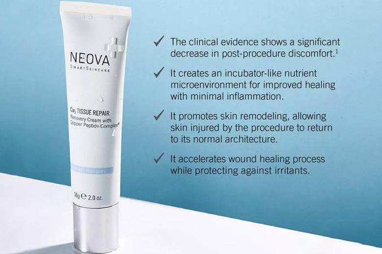 Tác dụng kem phục hồi da tổn thương Neova CU3 Tissue Repair 56g