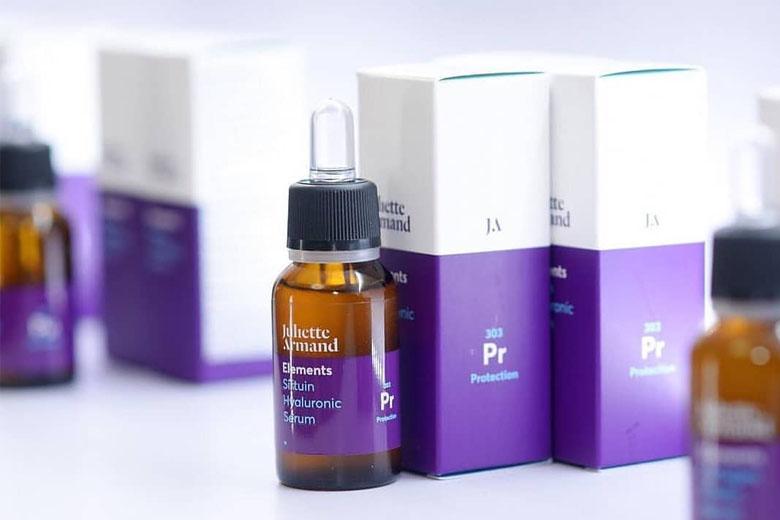 Tác dụng serum thải độc dưỡng ẩm chống lão hóa Juliette Armand Sirtuin Hyaluronic Serum 20ml